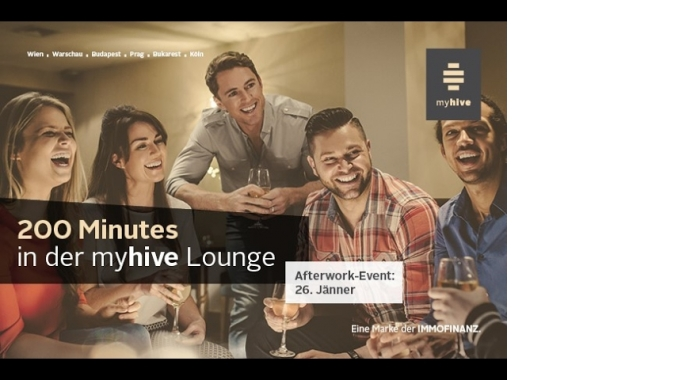 200 Minutes in der myhive lounge
