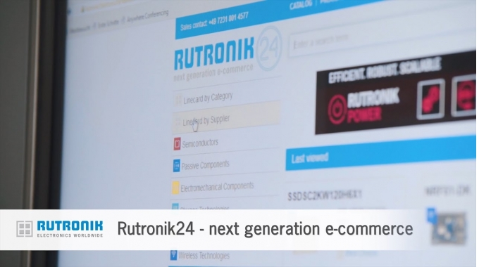 Rutronik24 - The next generation e-commerce.