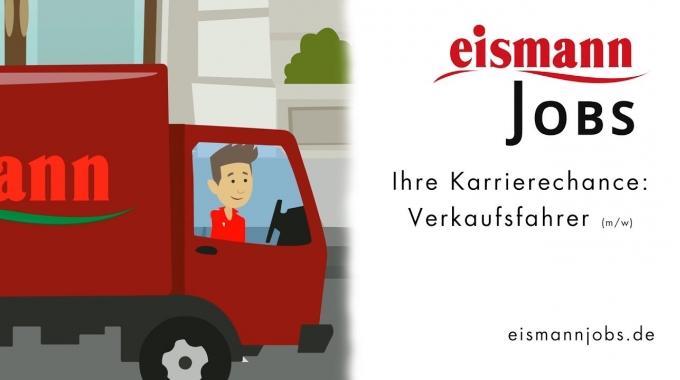 Ihre Karrierechance: Verkaufsfahrer (m/w) - eismannjobs.de