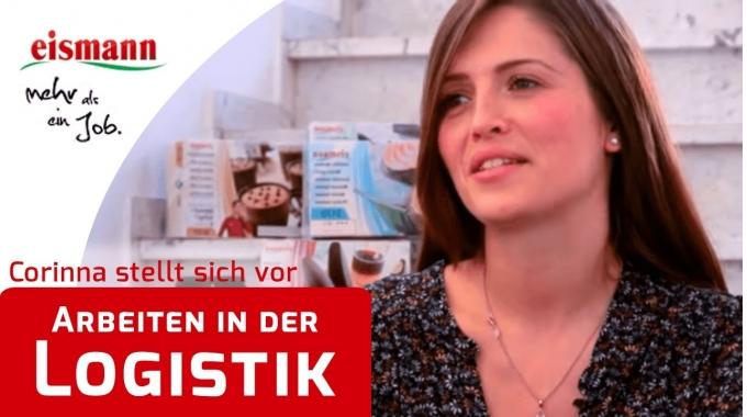 Zentralmitarbeiterin Corinna Heger (Logistik) | eismannjobs