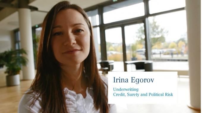 Irina Egorov, Ökonomin Kredit, Kaution & politisches Risiko