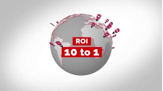 ROI 10:1. Predictive Analytics Budget Reallocation – Case Study Victorinox Swiss Army x ...