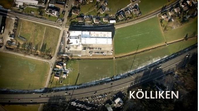 Debrunner Acifer - Baudokumentation DE Zentrallager Kölliken 2016