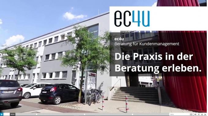 ec4u Praktikum & Thesis - Die Praxis in der Beratung erleben