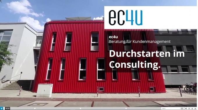 ec4u Berufseinstieg - Durchstarten im Consulting