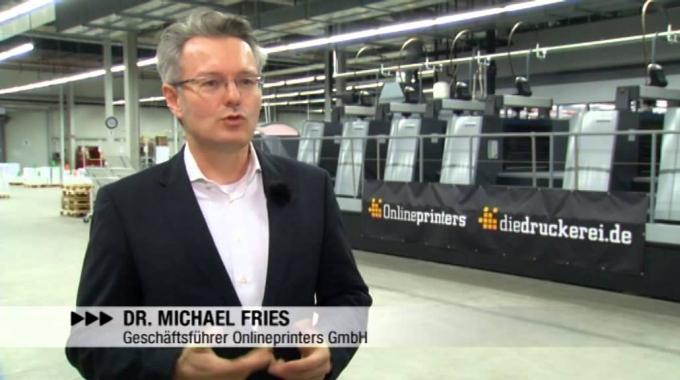 Starker Partner im Onlinedruck - diedruckerei.de und Heidelberg