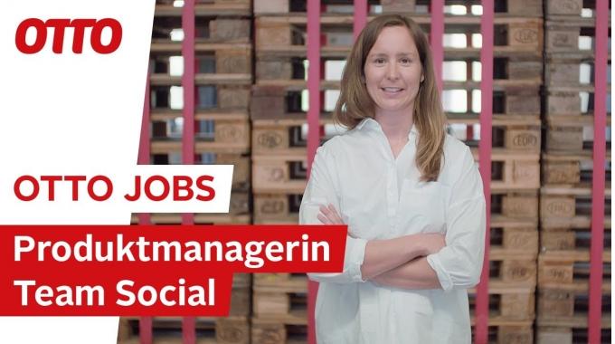 Anne-Lena, Produktmanagerin im E-Commerce-Team Social | OTTO Jobs