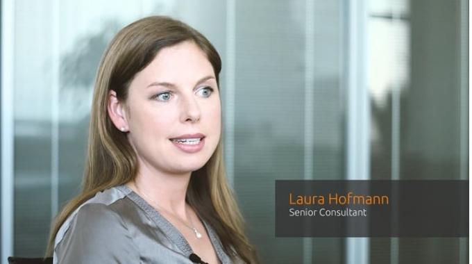 Laura Hofmann, Senior Consultant