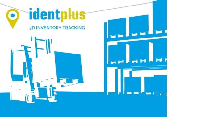 identplus® – Das 3D Staplerleitsystem mit Laserlokalisierung