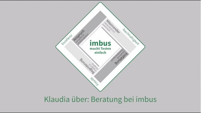 Klaudia über: Beratung bei imbus