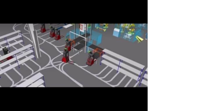 Logistikberatung mit Simulation in 2D & 3D - EK Automation