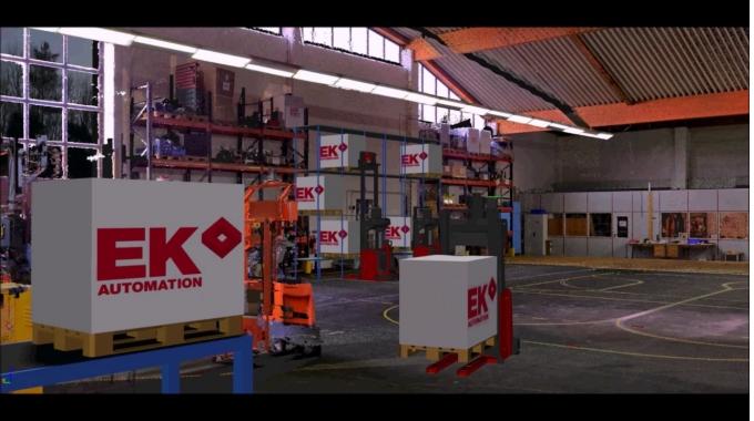 Logistik Simulation - EK Automation