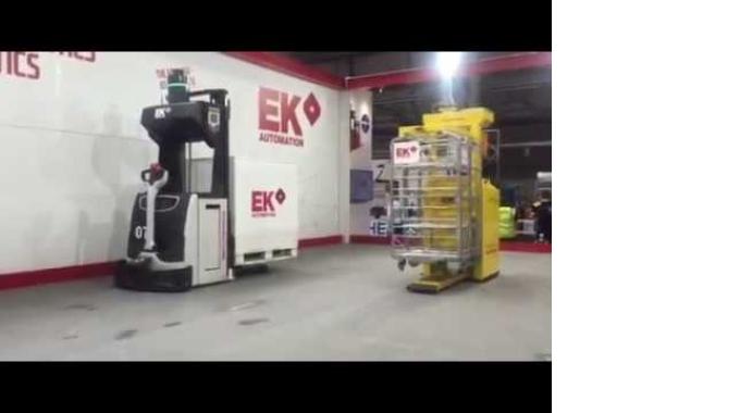 Automated Guided Vehicle - EK Automation - Medley