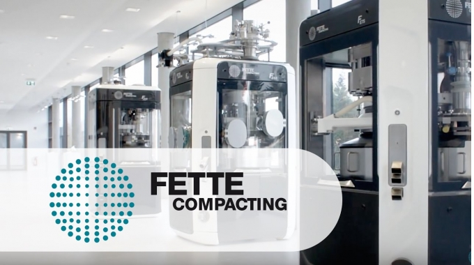 IMAGE FILM: Tableting Technology   Fette Compacting