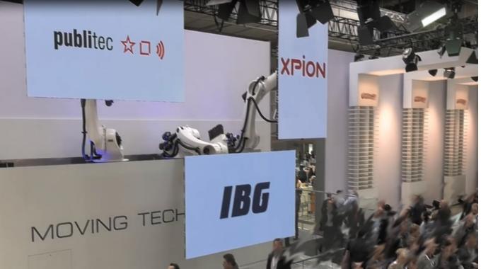 """""""Roboter meets Medienserver"""": zu Besuch auf der Hannover Messe"""