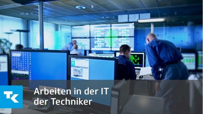 Arbeiten in der IT der Techniker