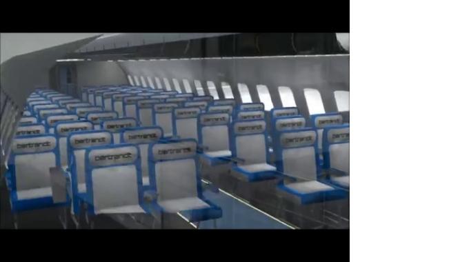 Augmented Reality bei Bertrandt: Die Flugzeug-Kabine