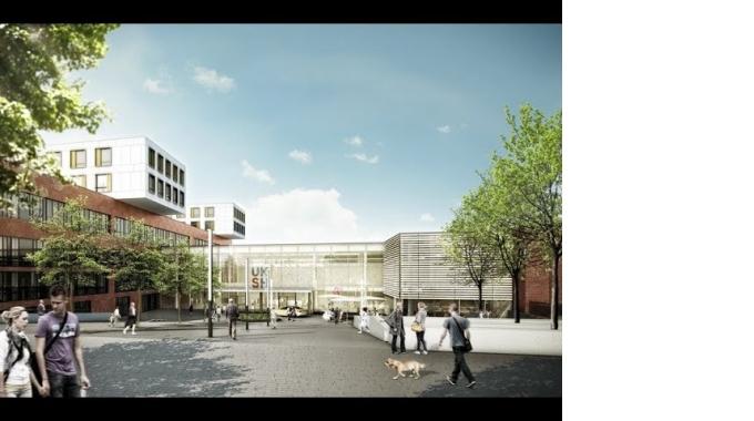 Virtueller Rundgang durch das Klinikum der Zukunft, Campus Lübeck