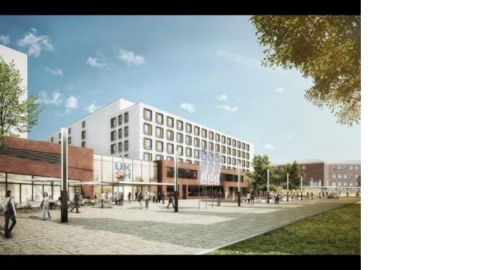 Virtueller Rundgang durch das Klinikum der Zukunft, Campus Kiel