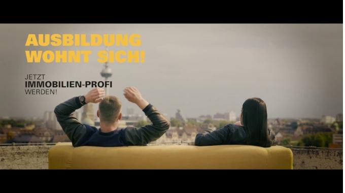 GBG Mannheim – Ausbildung wohnt sich! Azubikampagne Kinospot