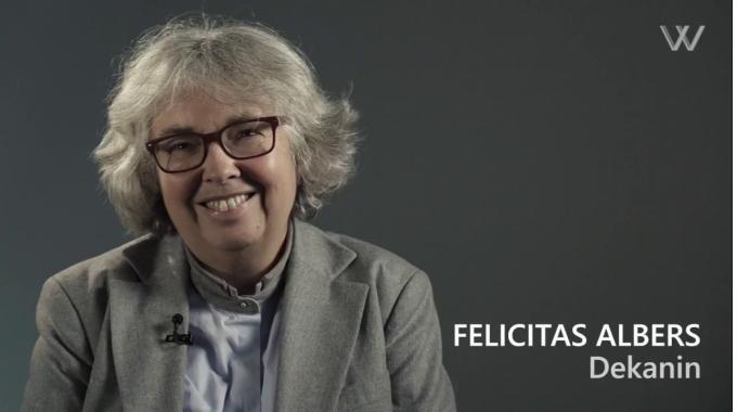 Auf ein Wort mit Felicitas Albers | HSD