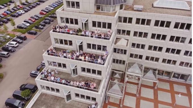 Flugbilder der Itzehoer Hauptverwaltung