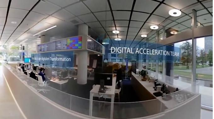 Erkunden Sie Nestlé Frankfurt in 360°
