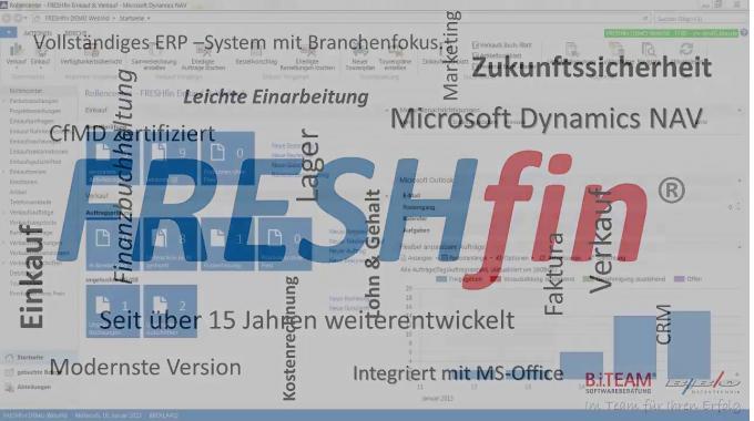 FRESHfin - Die Branchensoftware für den Fruchtgroßhandel