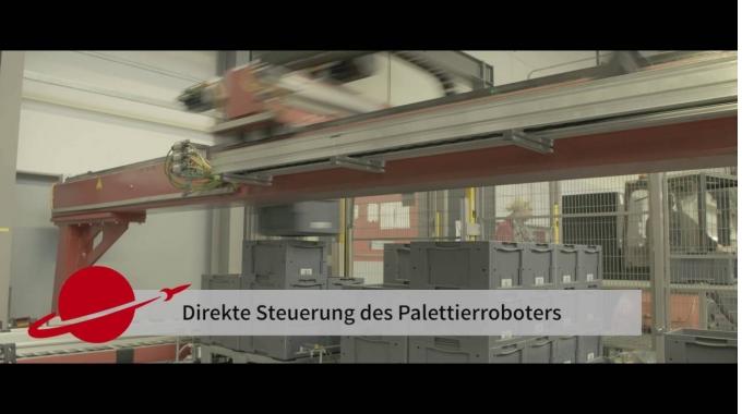 SAP EWM inkl. MFS für AKL und Behälterfördertechnik im Distributionslager von Ejot