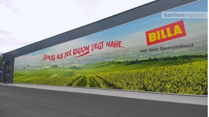 Rundgang durch das Unternehmen Billa AG auf karriere.at