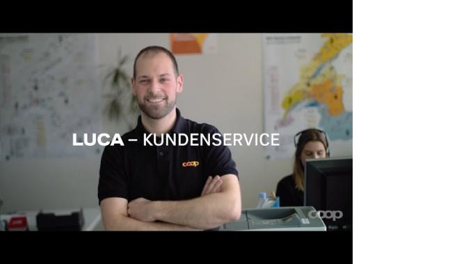 Was Luca als Mitarbeiter Kundendienst bei Coop wirklich tut