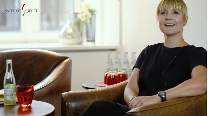 Kunden-Interview mit Cornelia Murer, Devire GmbH, im Satellite Office