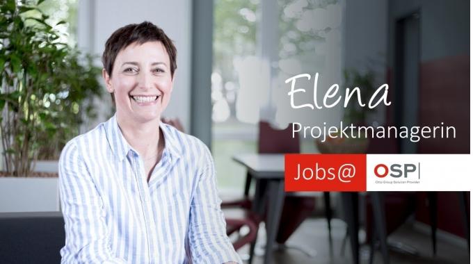 Elena, Projektmanagerin/Business-Analystin – Jobs@OSP
