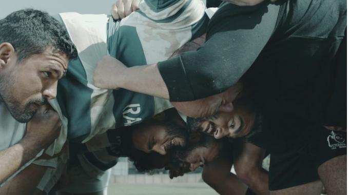 Rugby mit Rajapack - wir halten jedem Angriff stand!
