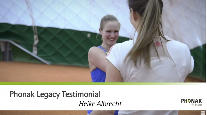 Phonak Legacy Testimonial - Heike Albrecht (Deutschland)