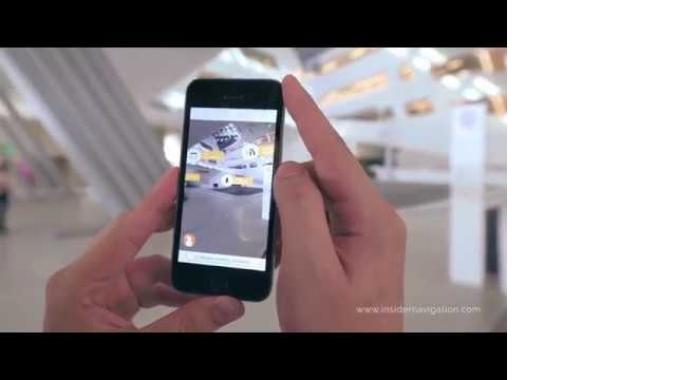 Insider Navigation's Showreel for AR Indoor Navigation