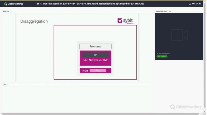Teil 1: Was ist eigentlich SAP BW-IP,  SAP-BPC (standard, embedded und optimized for S/4 ...