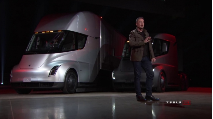 Tesla Semi & Roadster Unveil