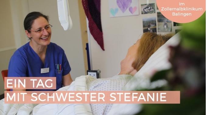 Ein Tag mit Schwester Stefanie