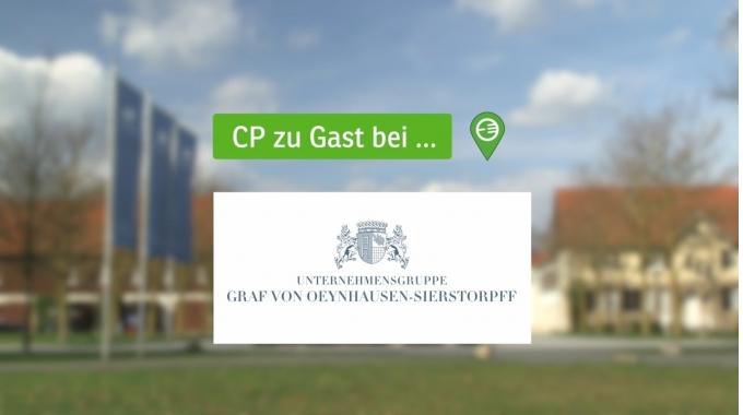 Corporate Planning zu Gast bei seinem Kunden, der Unternehmensgruppe Graf von Oeynhausen-...