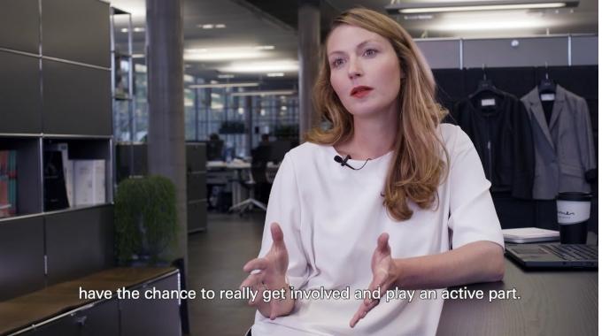 Field of work Digital: Interview with Alda | HUGO BOSS