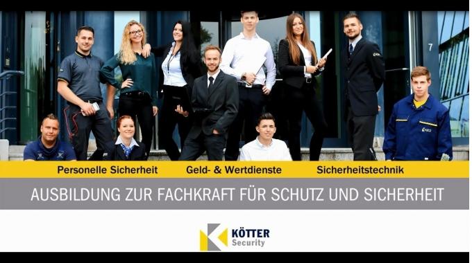 """Ausbildung zur """"Fachkraft für Schutz und Sicherheit"""" bei KÖTTER Security"""