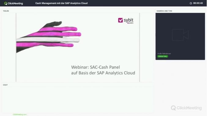 Cash Management mit der SAP Analytics Cloud