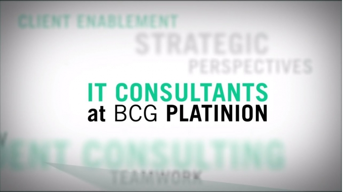 BCG Platinion: Being an IT Consultant.