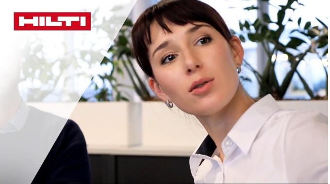 KARRIERE BEI HILTI – Evgeniya, Teamleiterin Kreditmanagement