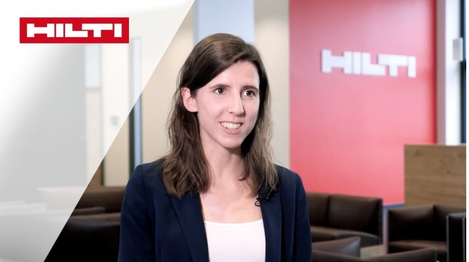 KARRIERE BEI HILTI - Johanna, Junior Finance Manager