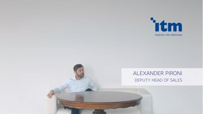 Alex genießt den hohen Gestaltungsfreiraum bei der ITM und dass er zur Entwicklung seiner...