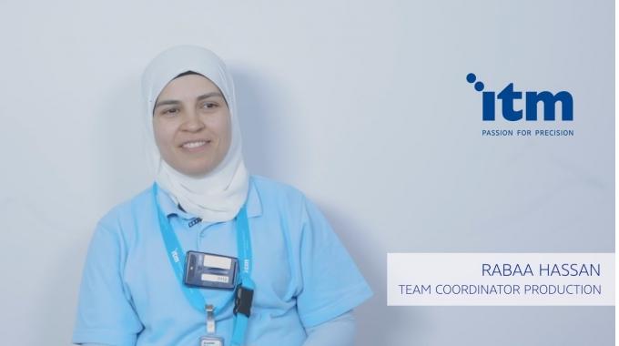Rabaa hat viele Freunde bei der ITM gefunden, was ihr geholfen hat, sich schnell zu ...