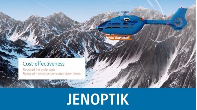 JENOPTIK SkyHoist 800 - a new generation of rescue hoists