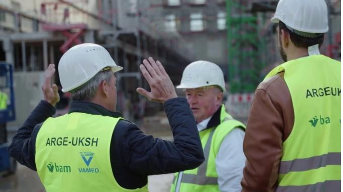 Das Klinikum der Zukunft - Einblicke in den Baufortschritt, Campus Kiel